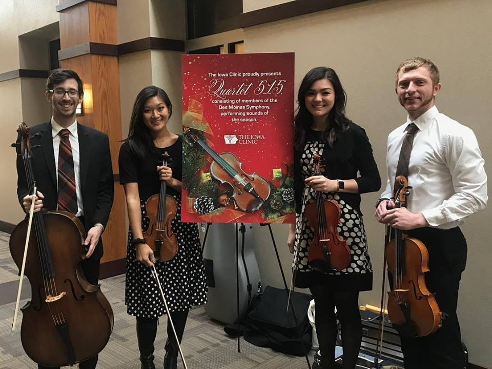 Iowa Clinic holiday concert