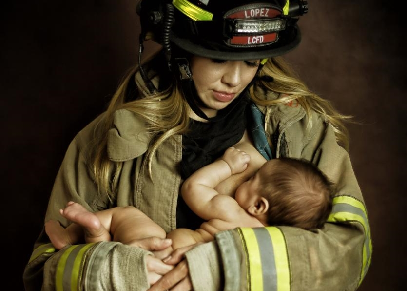 Firefighter Uniform by @tararubyphotography
