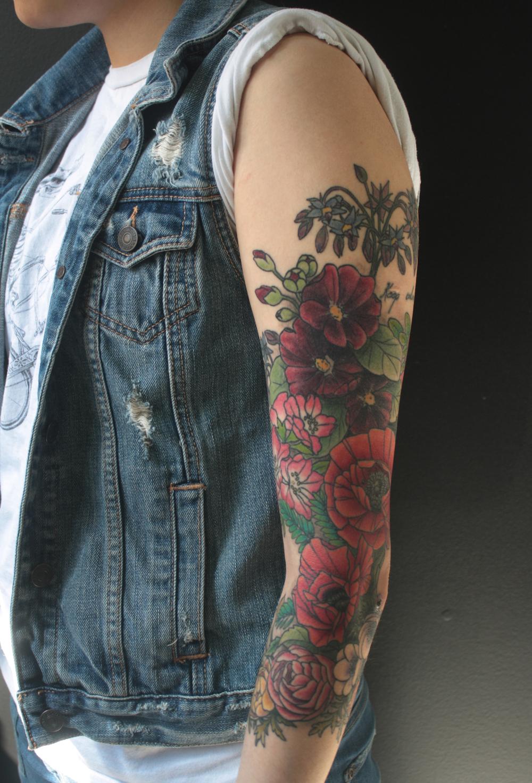 floral poppy foliage sleeve.jpg
