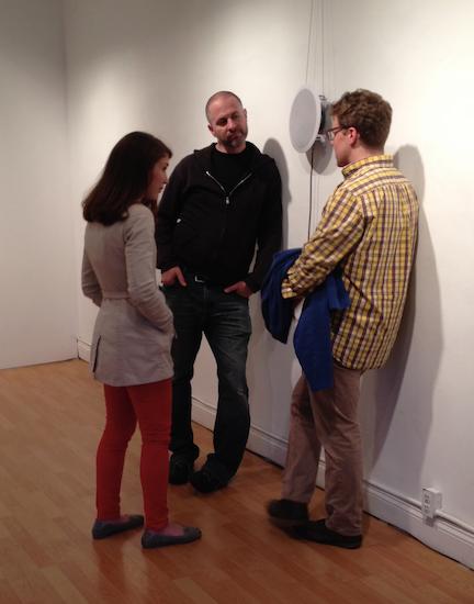 Listeners at the ILLIO Gallery, Columbus, Ohio.