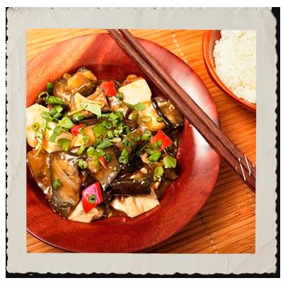 Tofu & Eggplant