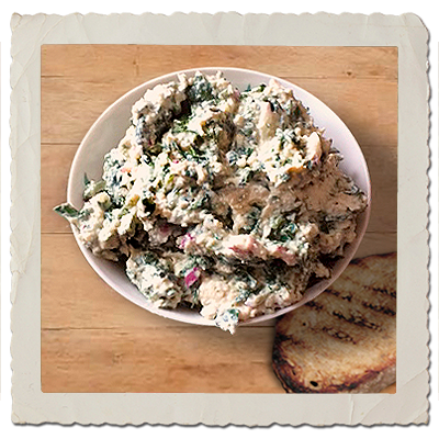 Spinach, Cashew and Tofu Spread