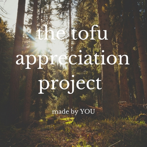 the tofu appreciation project