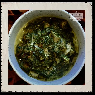 TofuPalakPaneer