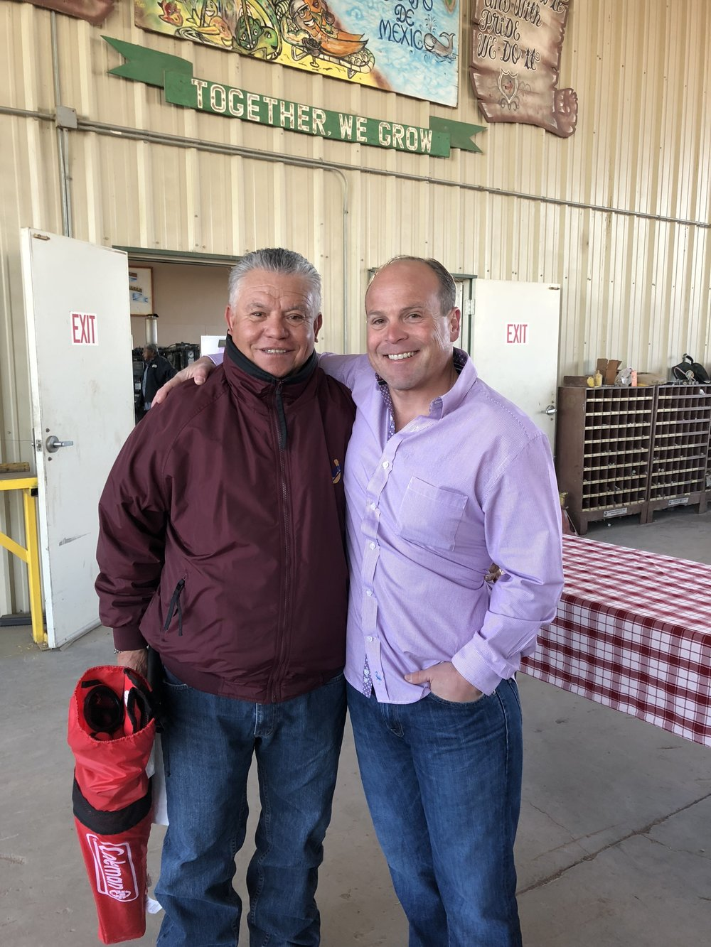 Juan Patiño, Tractor Supervisor was interviewed and will be highlighted on Labor of Love web-page. Mr. Patiño has been with Vessey for 39 years!