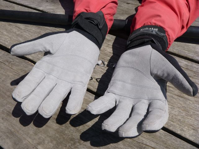 OceanPro Reef Pro Gloves - soft abrasion resistant palms