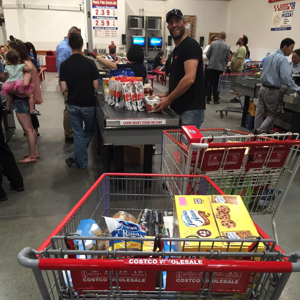 Anchorage: gathering provisions and equipment - Costco, Walmart Super-Center, Fred Meyers
