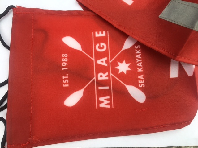 Mirage Kayaks Reflective Safety Flag $15