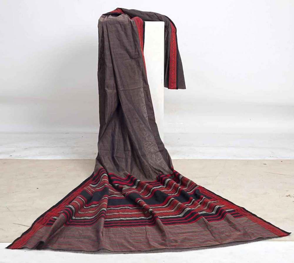 Handwoven Begampuri Sari