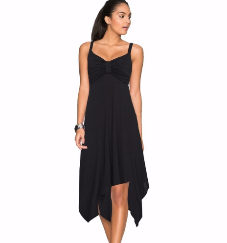 Spaghetti Strap Fit and Flare Dress
