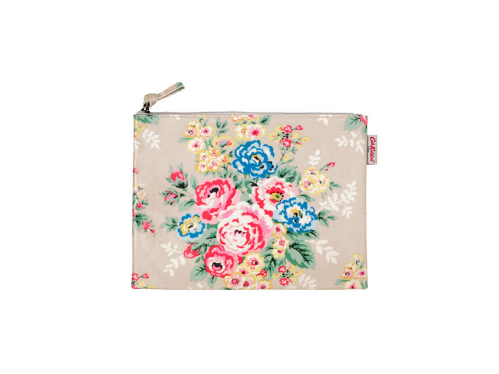 Candy flowers large zip purse by Cath Kidston