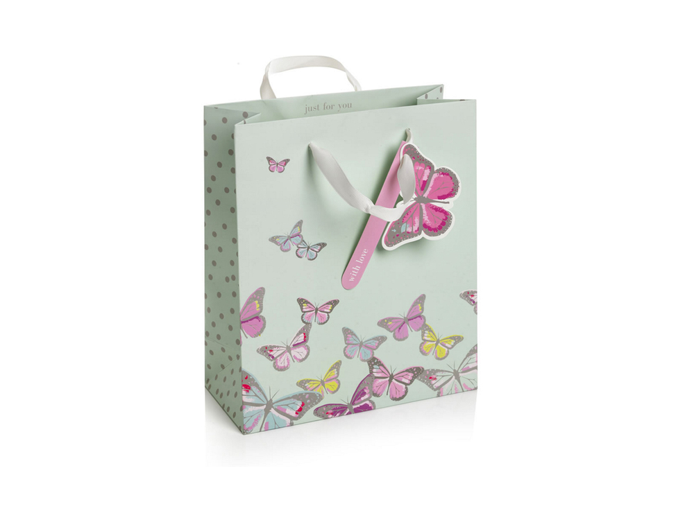 Butterfly gift bag from Wilko