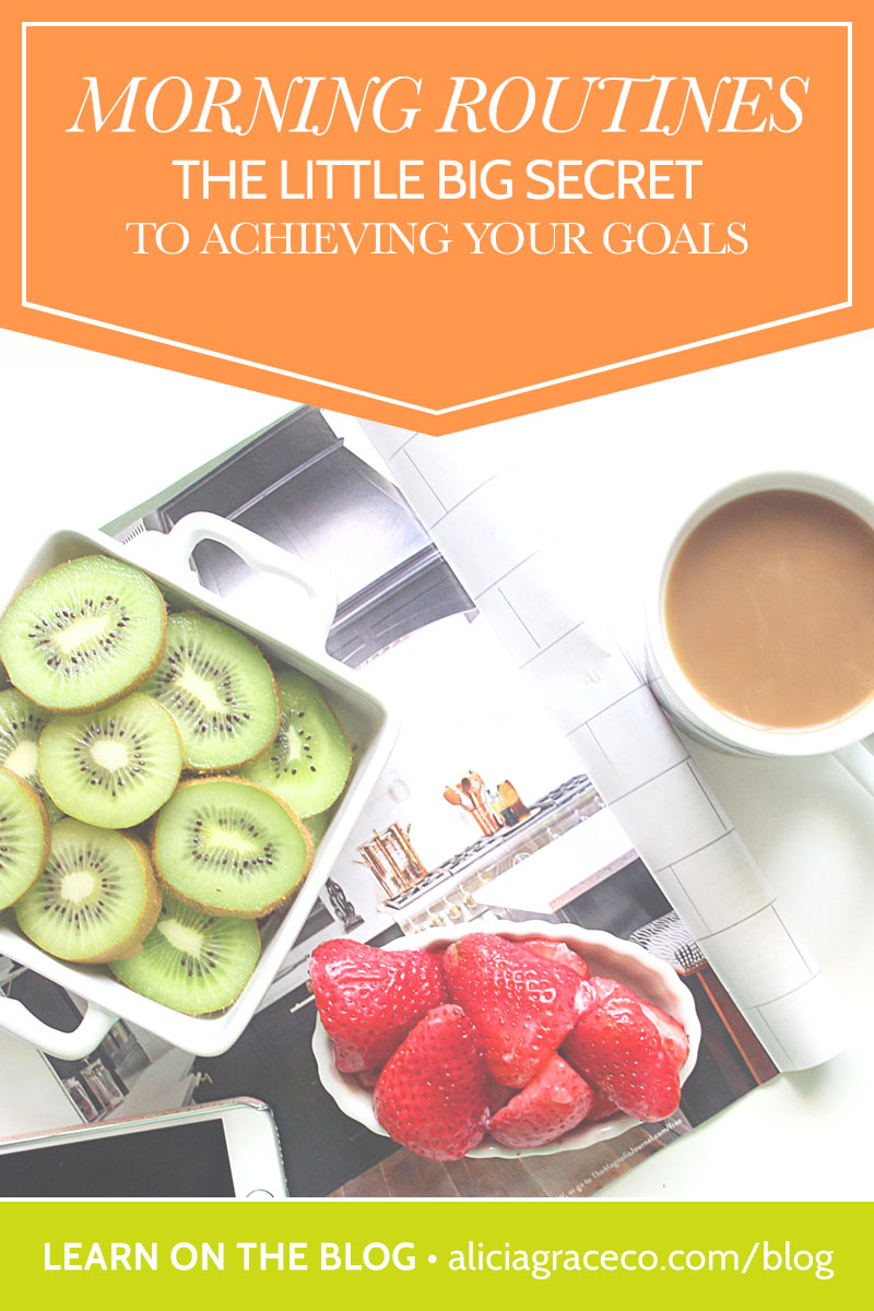 Morning routines are the little big secret to achieving your goals. Learn why.