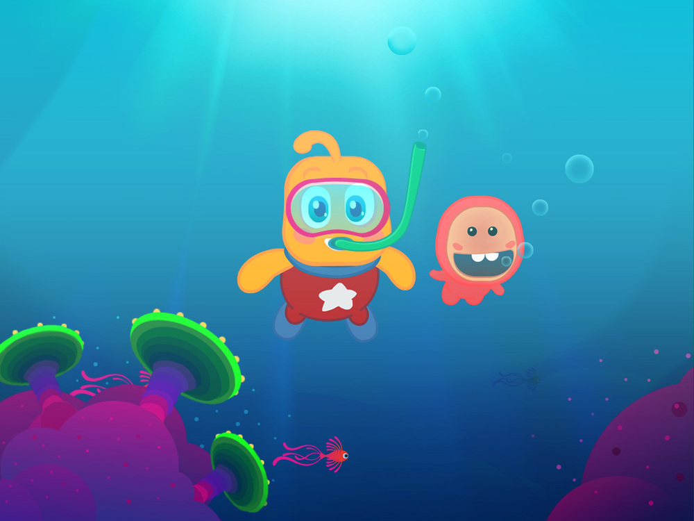 Olly | Underwater