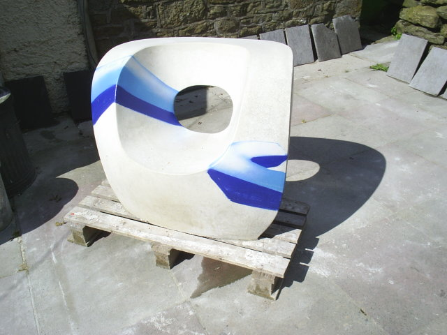 Graffiti Chair for Exhibition
