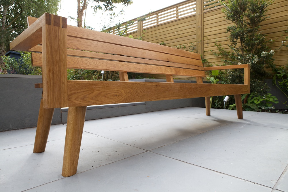 Oak Bench for Cally Road