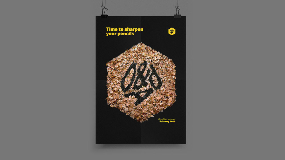 D&AD - Happy Ending Poster Design.