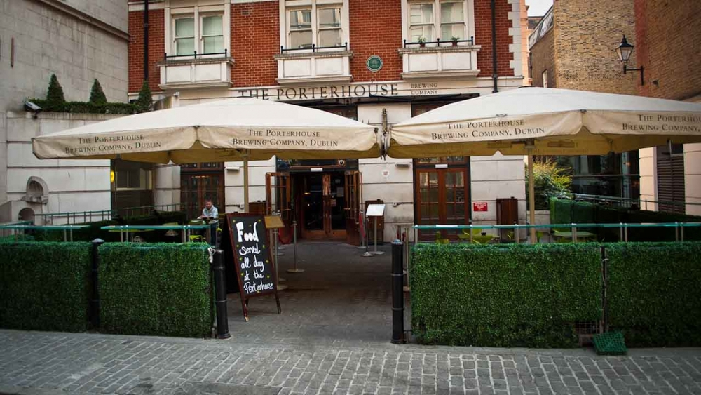 The Porterhouse Covent Garden - The venue for our agency round table.