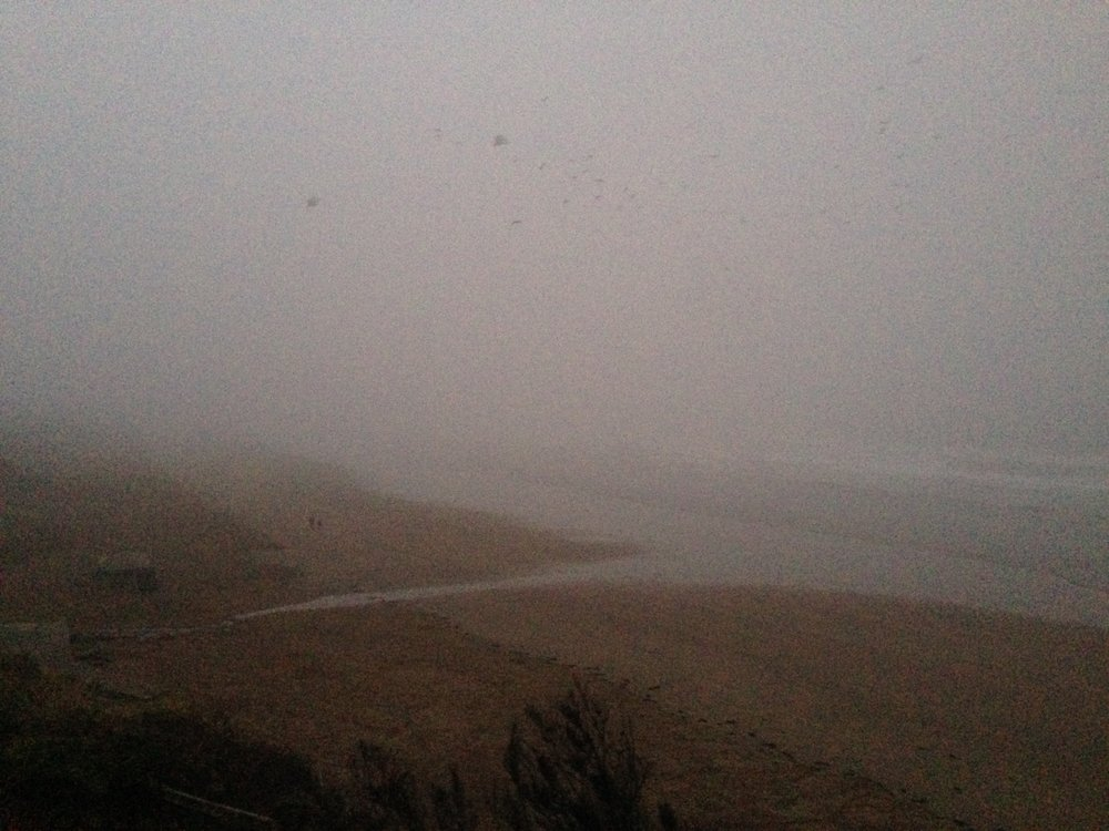 misty saunton beach