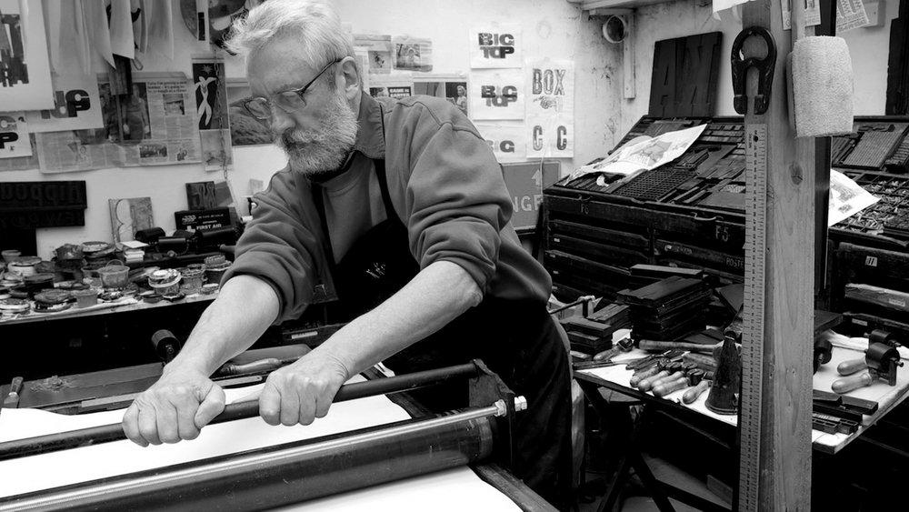 Alan Kitching Letterpress