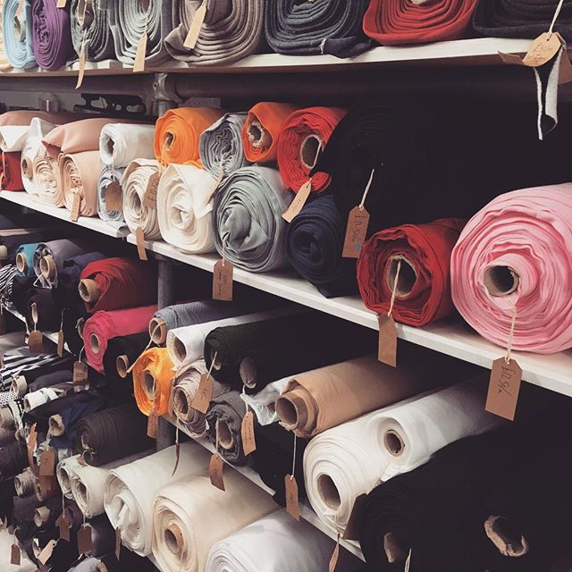 Bit of @nativebasketball fabric shopping.
