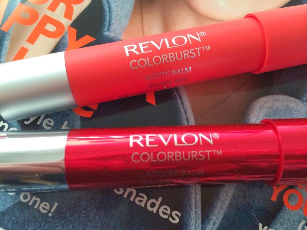 Revlon Haul - Matte and Lacquer ColourBurst Balms
