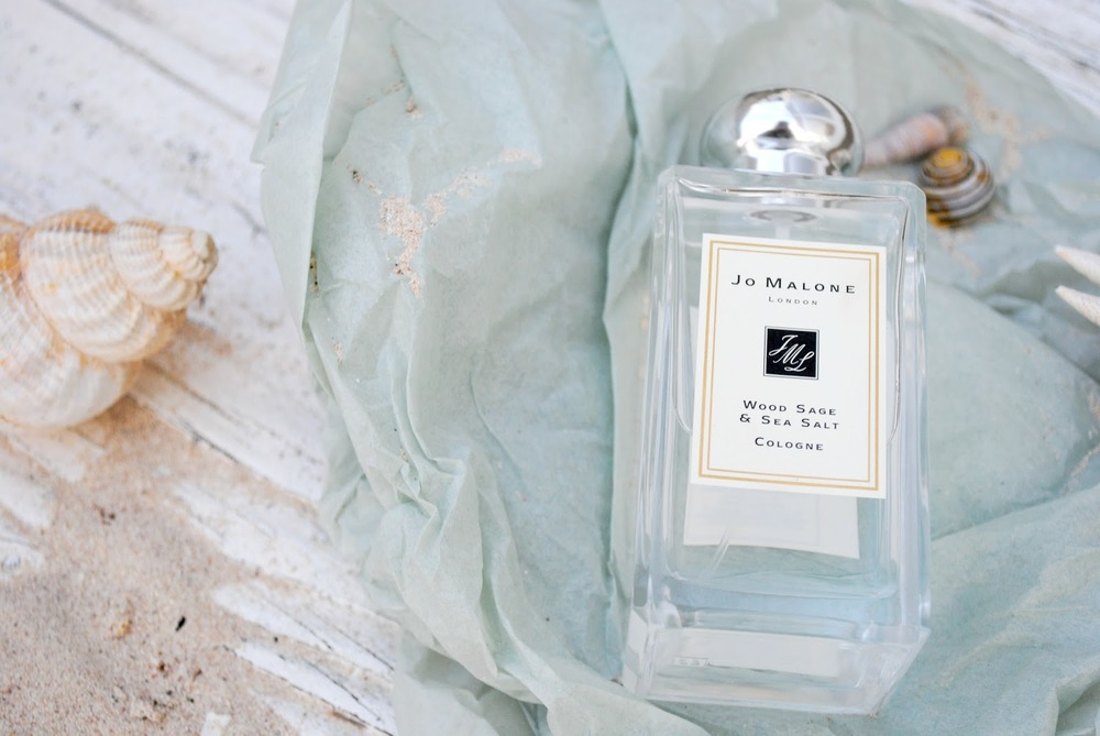 Jo Malone Wood Sage and Sea Salt Perfume Review | Sally Says Beauty blog