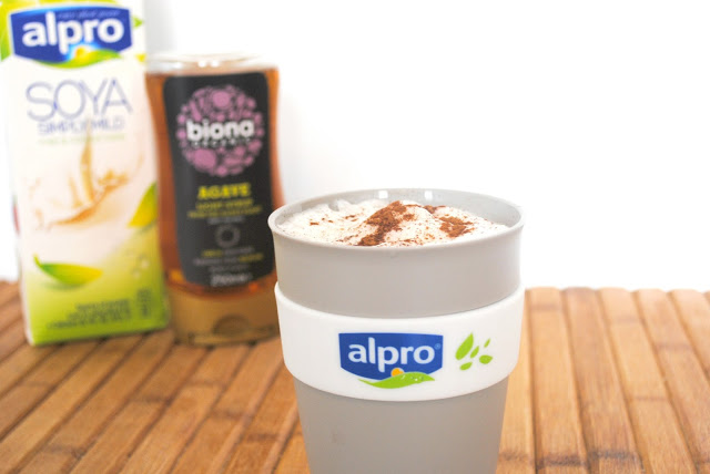 One Simple Switch for a Healthier Latte - Alpro Soya Simply Mild Review on Sally Says Beauty