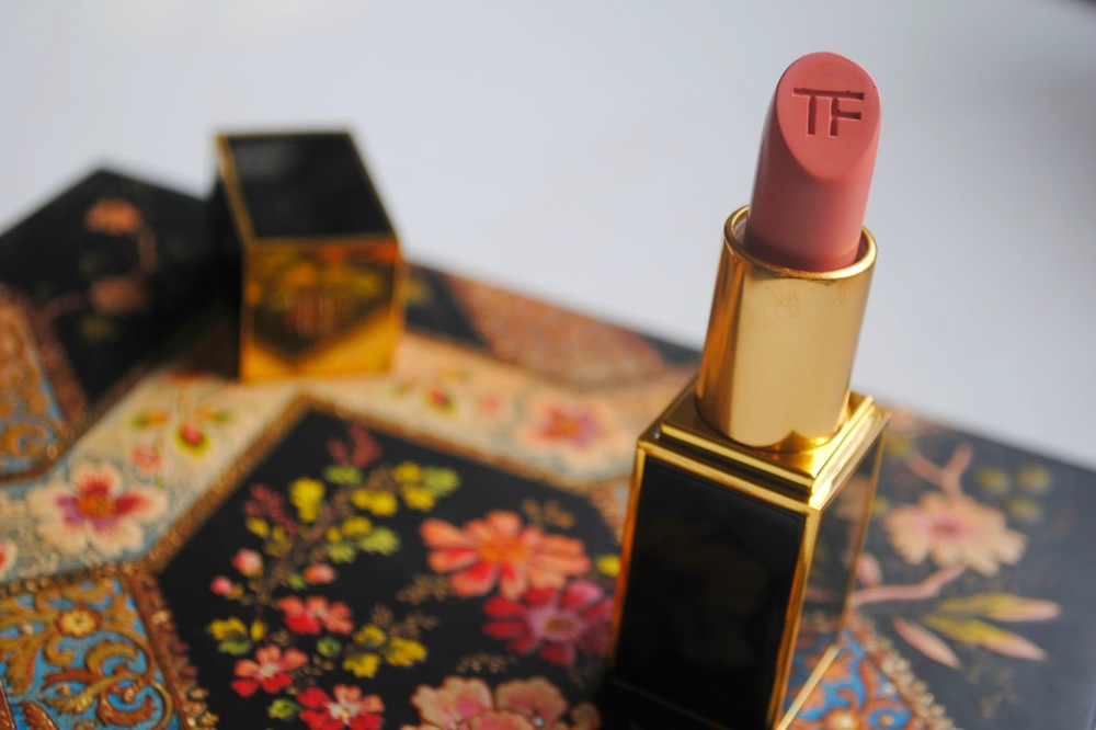 Tom Ford Cosmetics Lip Colour in Spanish Pink Review & Blog Post