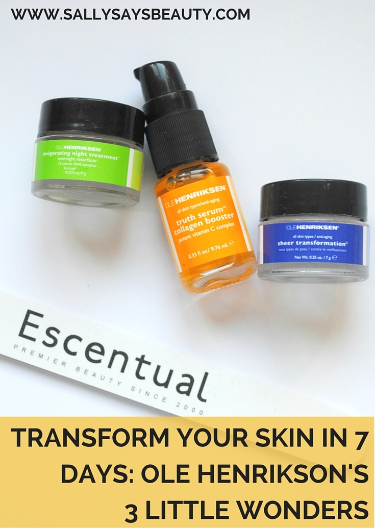 Transform your Skin in 7 Days with Ole Henrikson's 3 Little Wonders Skincare Set from Escentual