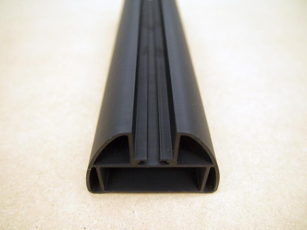 Black ASA at 0.254mm on Statasys F170