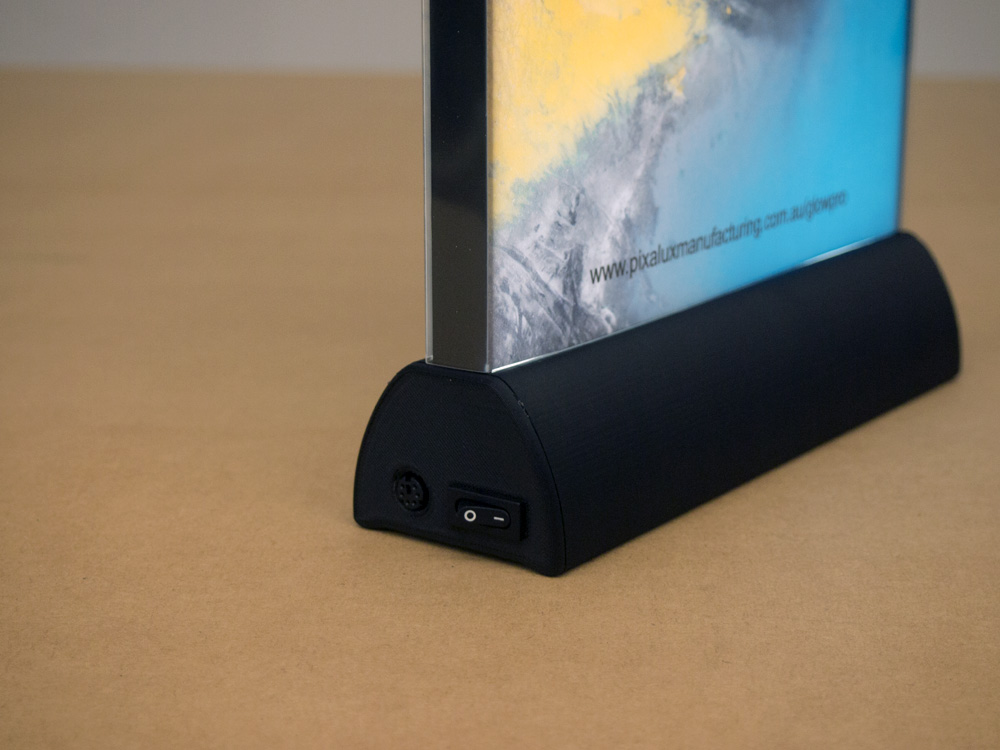 Integrated charging port and switch.