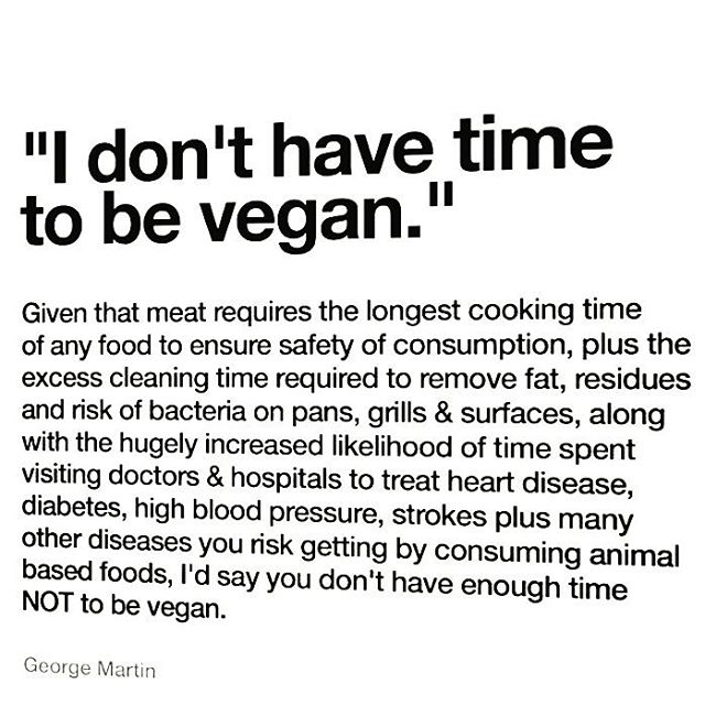 Just saying #govegan #meatlessmondays #plantbased #whynot #choosehealth #environmentalism