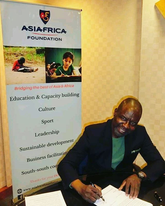 MoU signed and opening today a new bridge between Ivory Coast and Asia.  A new chapter of history for Asiafrica foundation.  Creating opportunities for African students  to study and learn the best possible in Asia. Thanking everyone for the successful outcome.  But this is just the first step.  The best is to come. Le meilleur est a venir Thanks for encouragements and donations to help us bridge the best of Africa and Asia  #education #cotedivoire #Thailand #Asia #asie #Bridge #Vietnam #coreedusud #southkorea #donate #ivorycoast #capacitybuilding #cooperation #chine #japan #srilanka #asean #africa #afrique #china #campusinde #abidjan