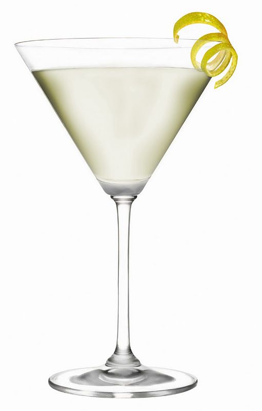 The martini is a cocktail made with gin and vermouth, and garnished with an olive or a lemon sepfeyms.ga the years, the martini has become one of the best-known mixed alcoholic beverages. H. L. Mencken called the martini