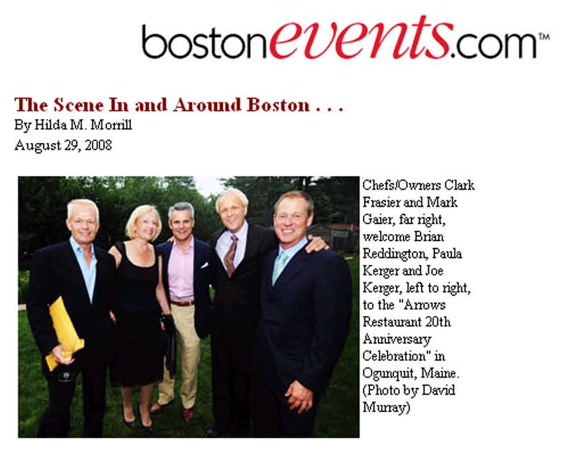 BostonEvents.com,  Mark Gaier, Clark Frasier