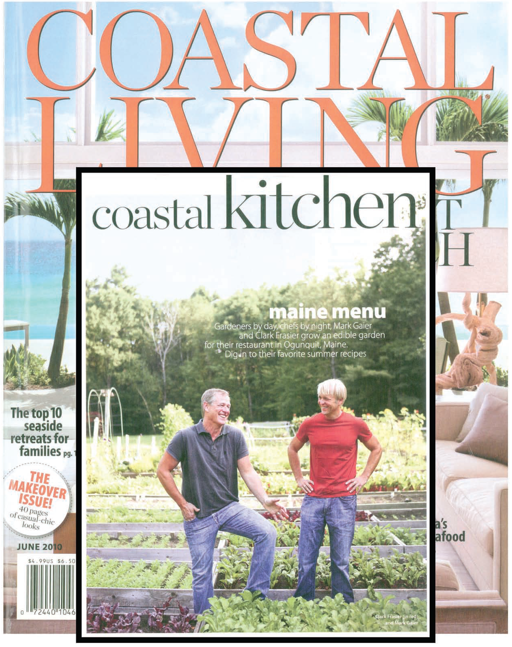 Coastal Living Magazine, Mark Gaier, Clark Frasier,