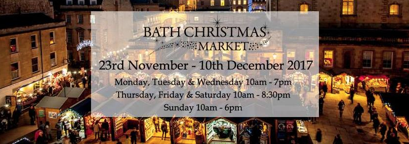 We are thrilled to be one of the 170 Christmas chalets at this years Bath Christmas Market. You'll be able to find us on Southgate Street in Chalet 12.  For more info:  Each year the centre of Bath is transformed into a magical Christmas shopper's paradise, as over 170 chalets packed full of gorgeous Christmas gifts line the streets surrounding the Roman Baths and Bath Abbey. Soak up the sights, smells and sounds as you wander around the market; we guarantee the aroma of warming mulled wine and freshly baked mince pies, enjoyed with a generous sprinkling of cheering carols that will get even the biggest of humbugs into the Christmas spirit! Don't forget that Bath has plenty to offer outside of the market too, including stunning architecture, top restaurants and the UK's only natural thermal spa that you can bathe in.