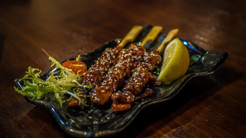 8. Chicken Yakitori
