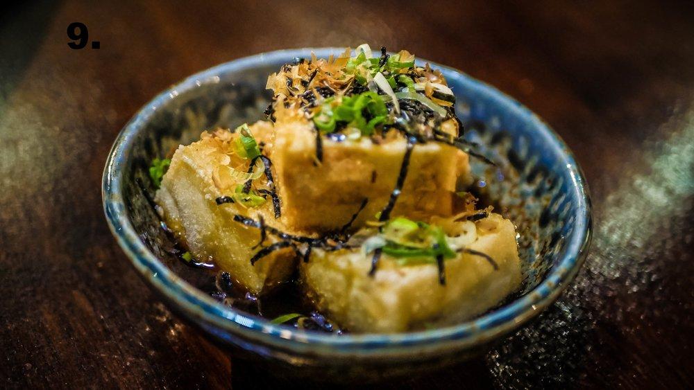 9. Agedashi Tofu