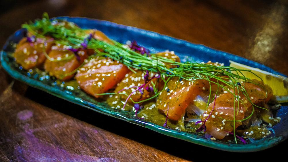 47. Tataki Salmon