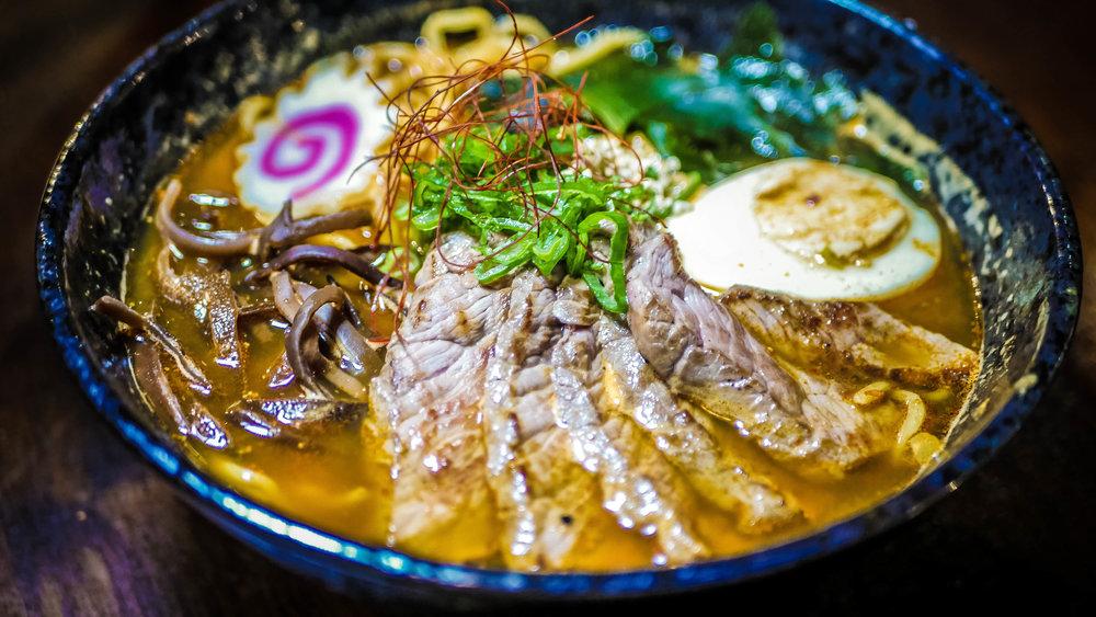 84. Beef Steak Ramen