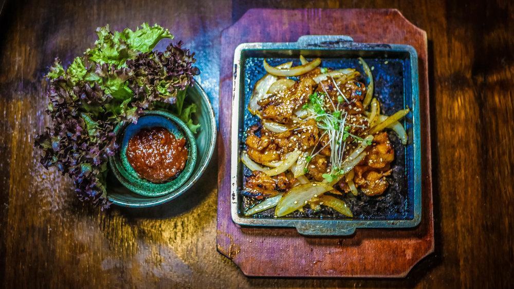 91B. Spicy Pork Bulgogi
