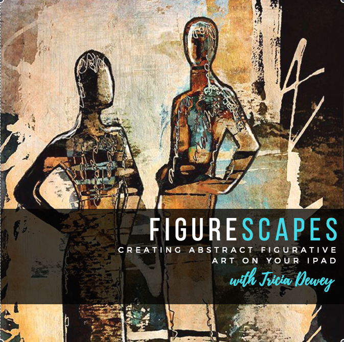 Figurescapes:   Creating Abstract Figurative Art on Your iPad