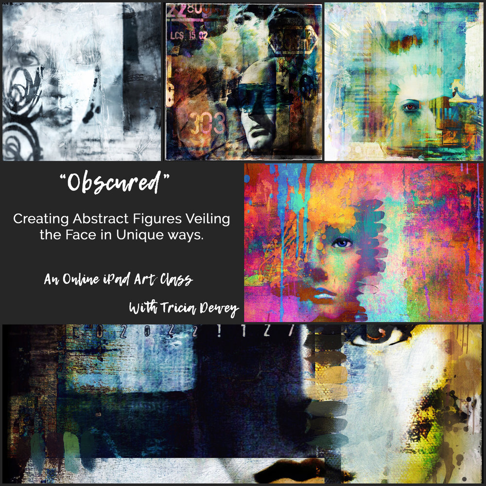 Obscured :  Create Abstract Figures on your iPad