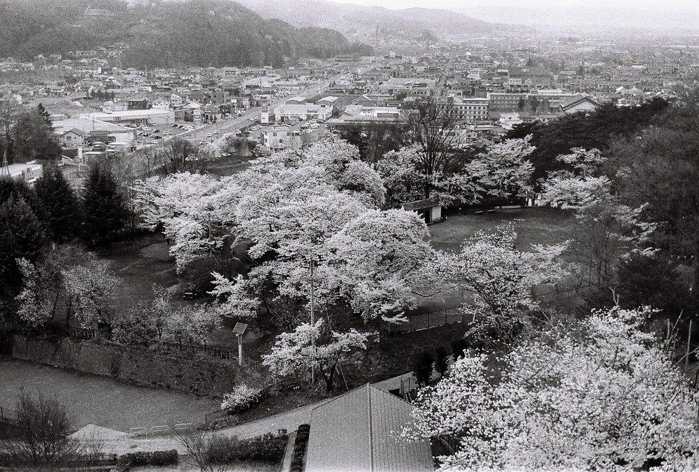 Spring in Sakuho, Nagano Prefecture