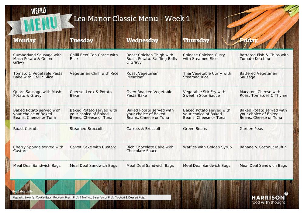 Lea Manor Classic Menu Week 1 - June - July 2018.jpg