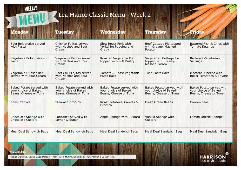 Lea Manor Classic Menu Week 2 - June - July 2018.jpg