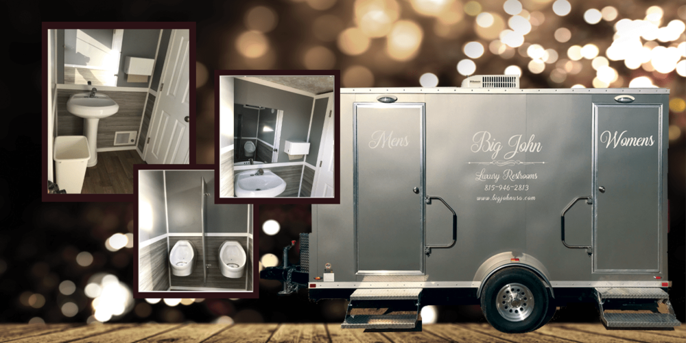 Luxury Redefined - Our restroom trailer is the ultimate luxury rental solution for your special event, wedding or corporate outing. Hand crafted with the finest luxury amenities, this restroom trailer is the cornerstone your event deserves!