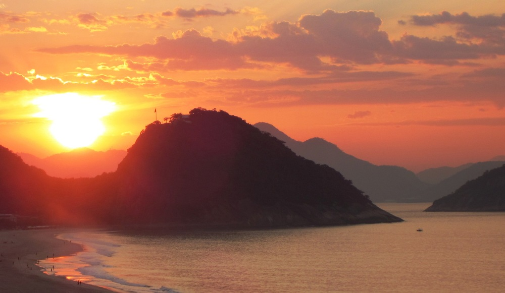 Sunrise, Rio de Janeiro, Brazil